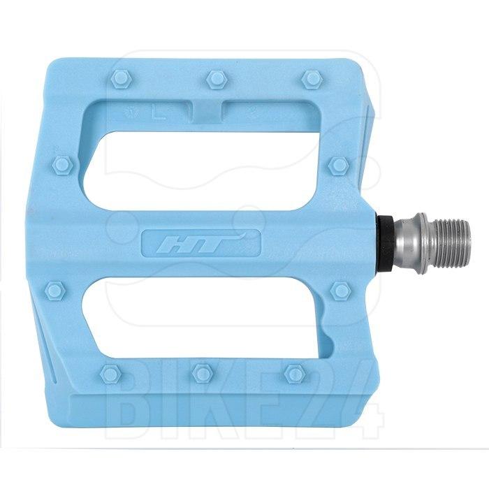 Bild von HT PA12 NANO P Flat Pedal Aluminium - himmelblau