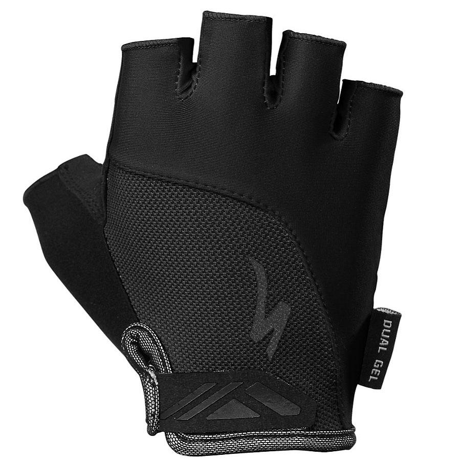 Specialized Body Geometry Dual Gel SF Women's Short Finger Glove - Black