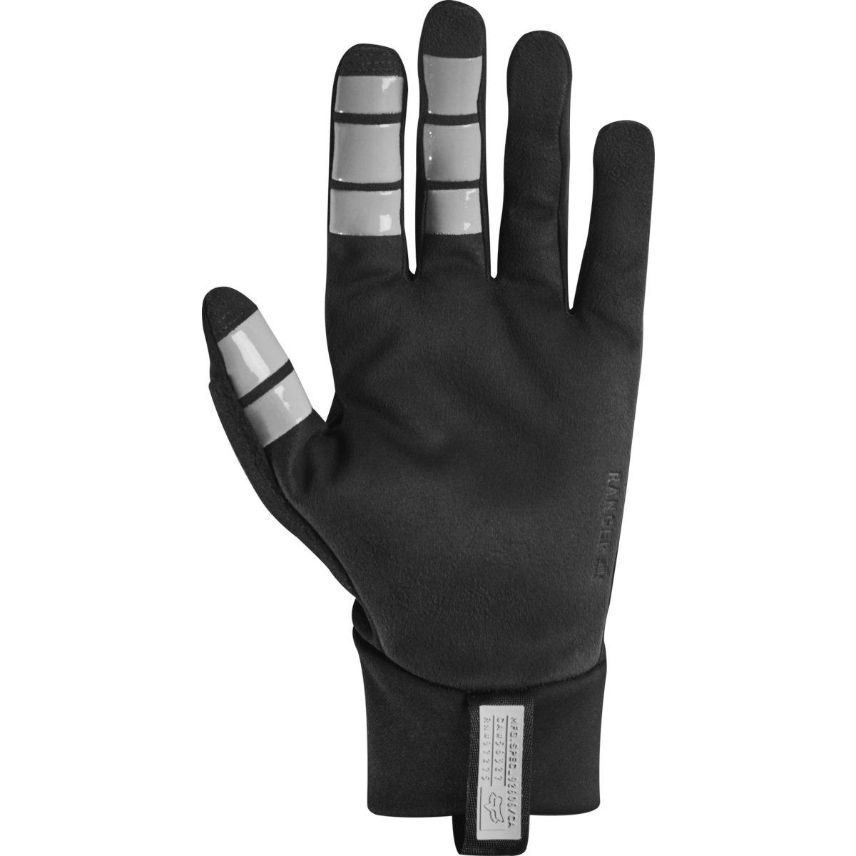 Image of FOX Ranger Fire MTB Full Finger Gloves - black