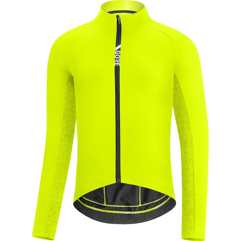 Produktbild von GORE Wear C5 Thermo Trikot 100641 - neon yellow/citrus green 08AR