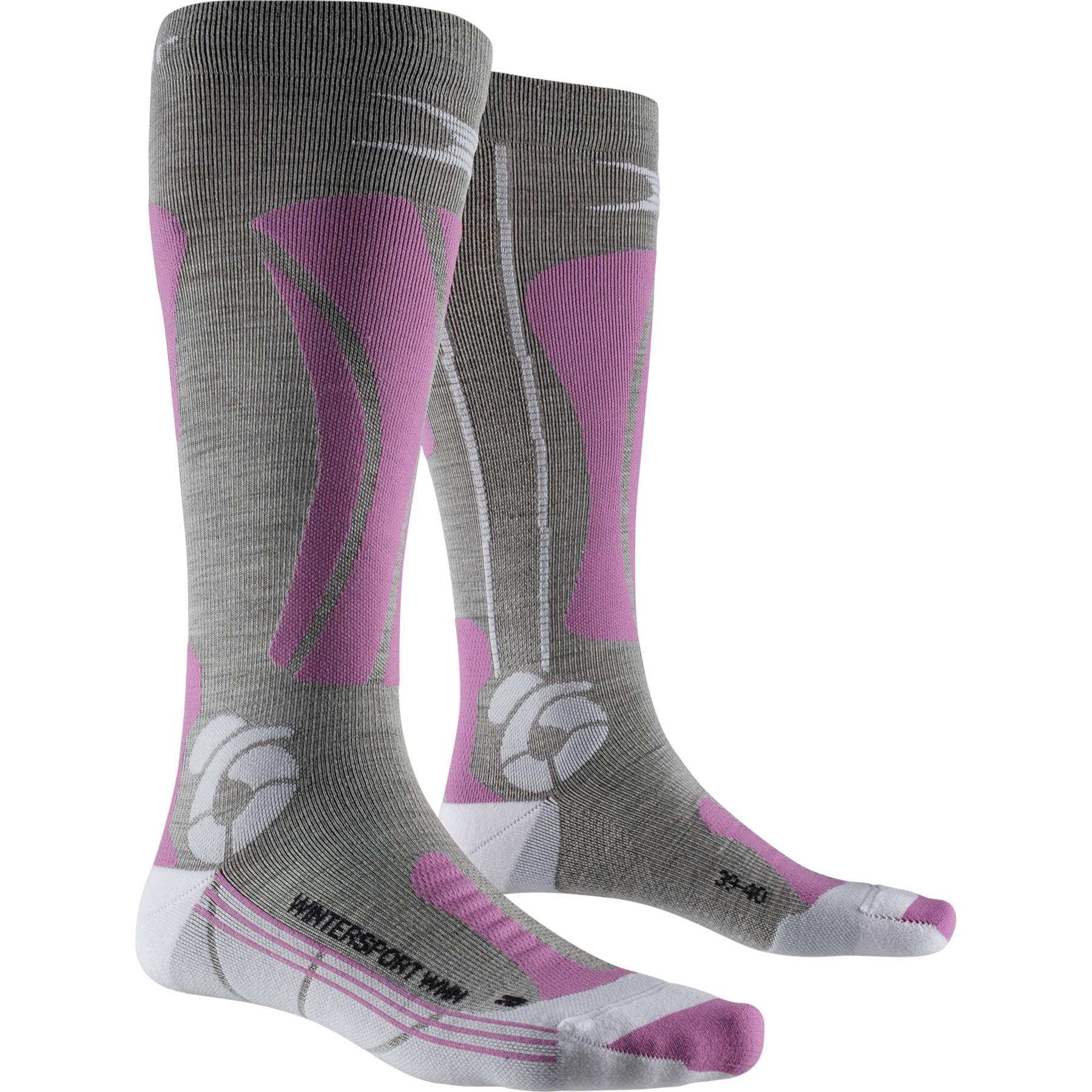 Bild von X-Socks Apani Wintersports Socken für Damen - black/grey/magnolia