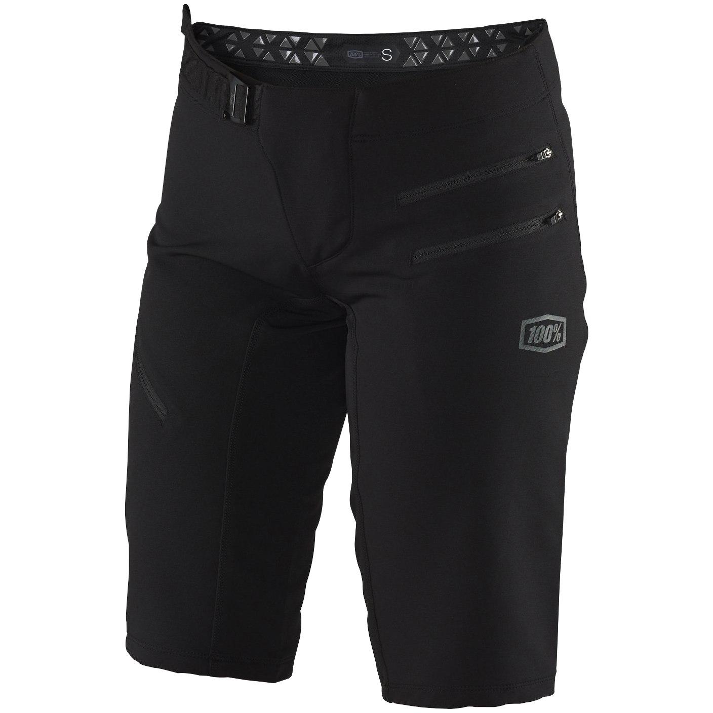100% Airmatic Women's Shorts - black