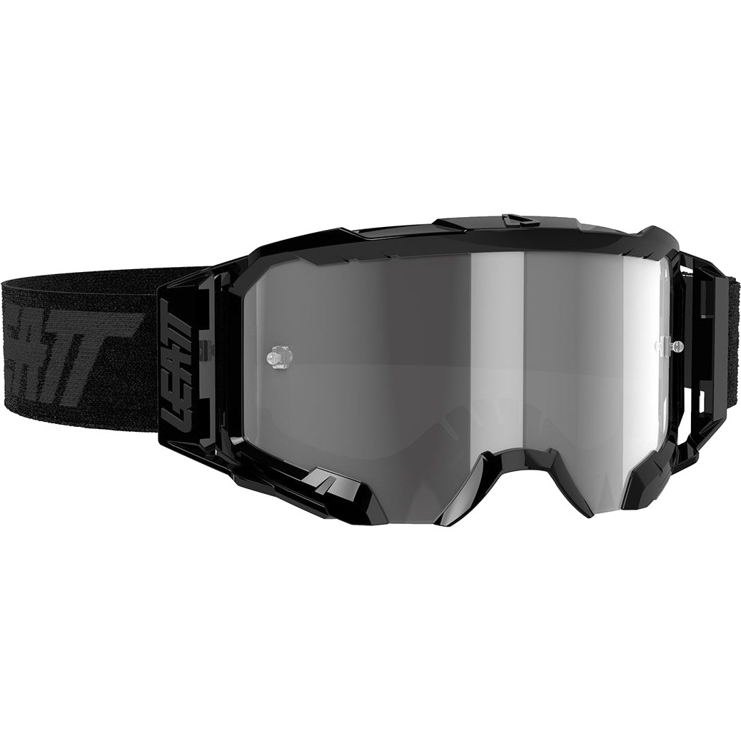 Leatt Velocity 5.5 Goggle - black / light grey - anti fog