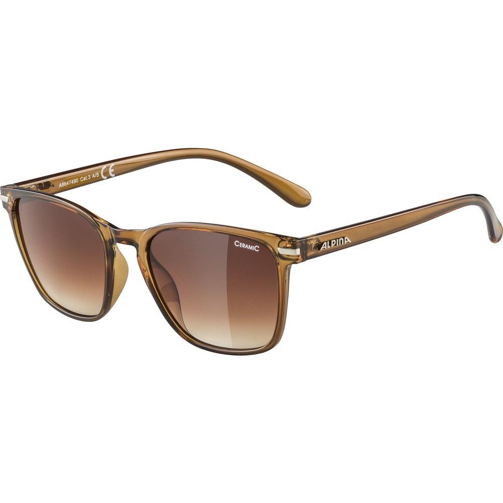 Alpina Yefe Glasses - brown transparent / ceramic brown gradient