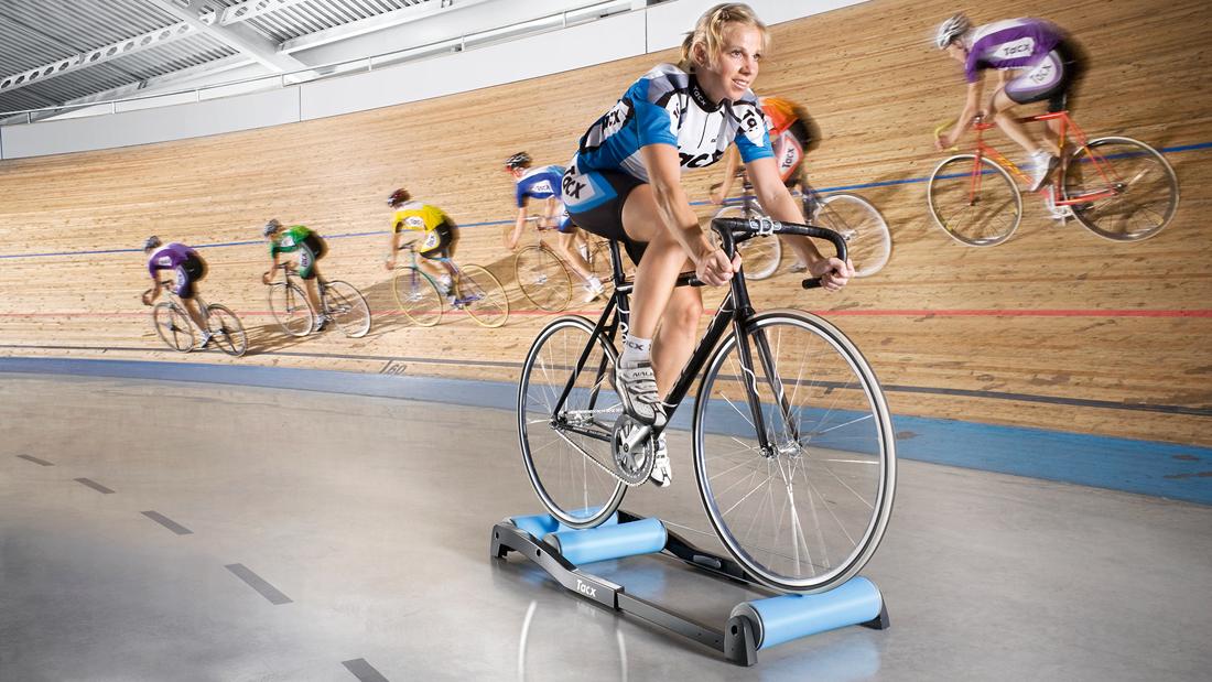 Tacx Antares Freie Rolle für Bahnradfahrer und klassisches Indoor-Training