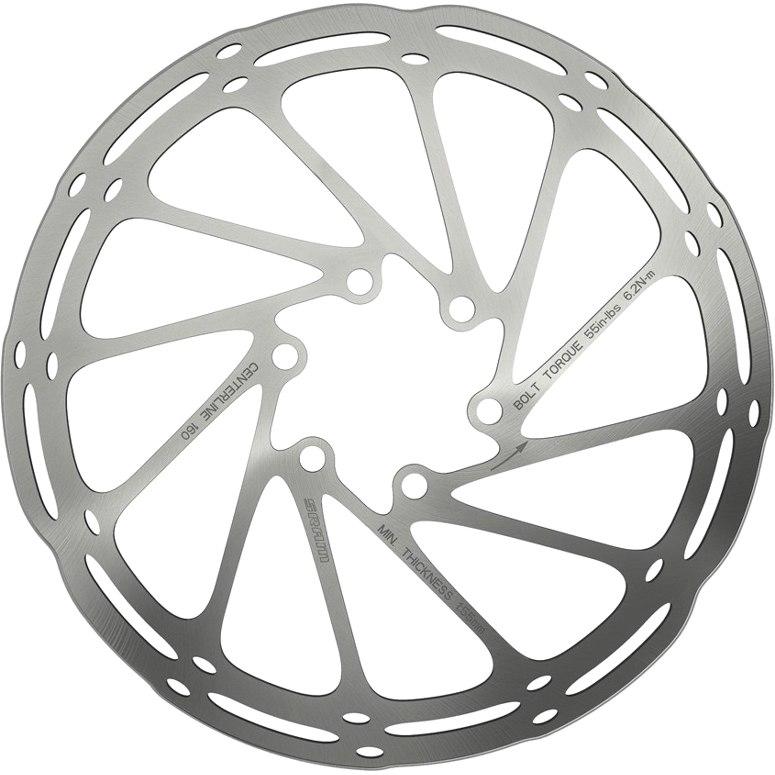 Produktbild von SRAM Centerline Round Edges Bremsscheibe - 6-Loch