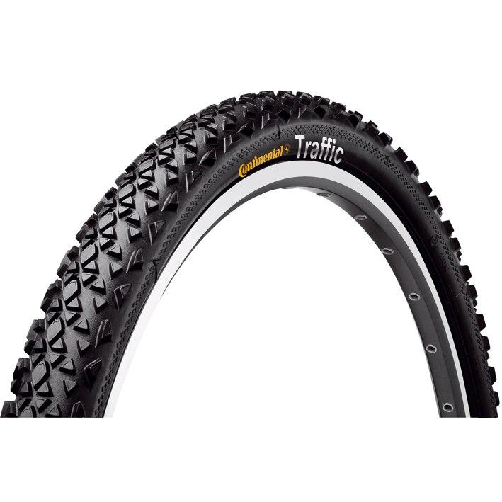Continental Traffic Sport Wire Bead Tire 24x1.75 Inches - black Reflex