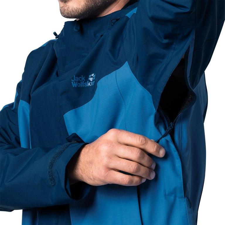 Image of Jack Wolfskin Venture Tour Jacket Men - poseidon blue