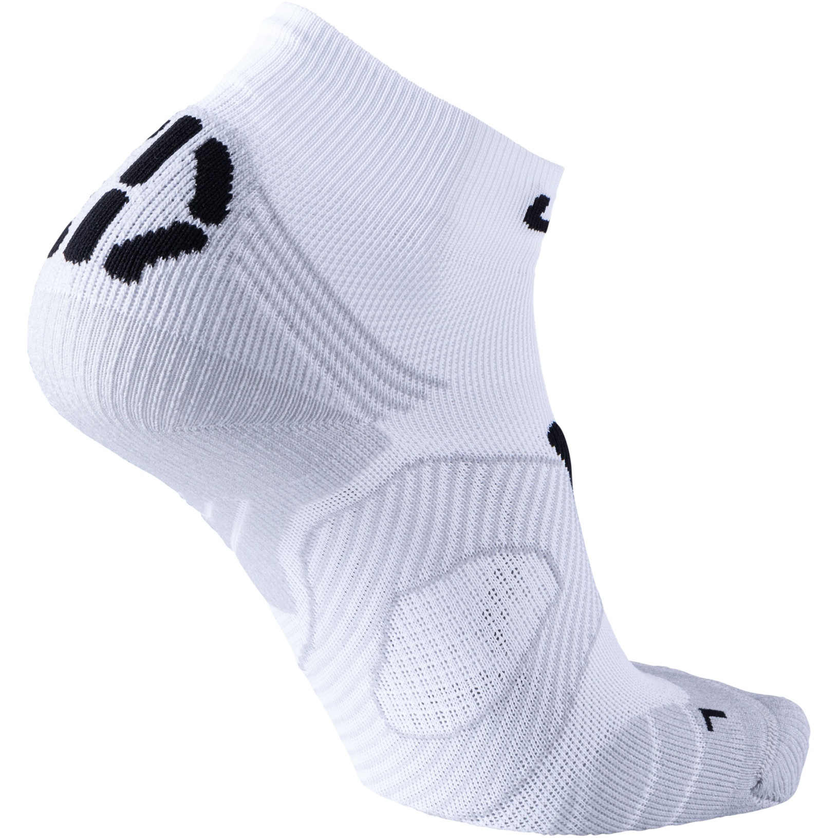Image of UYN Lady Running Super Fast Socks - White/Black