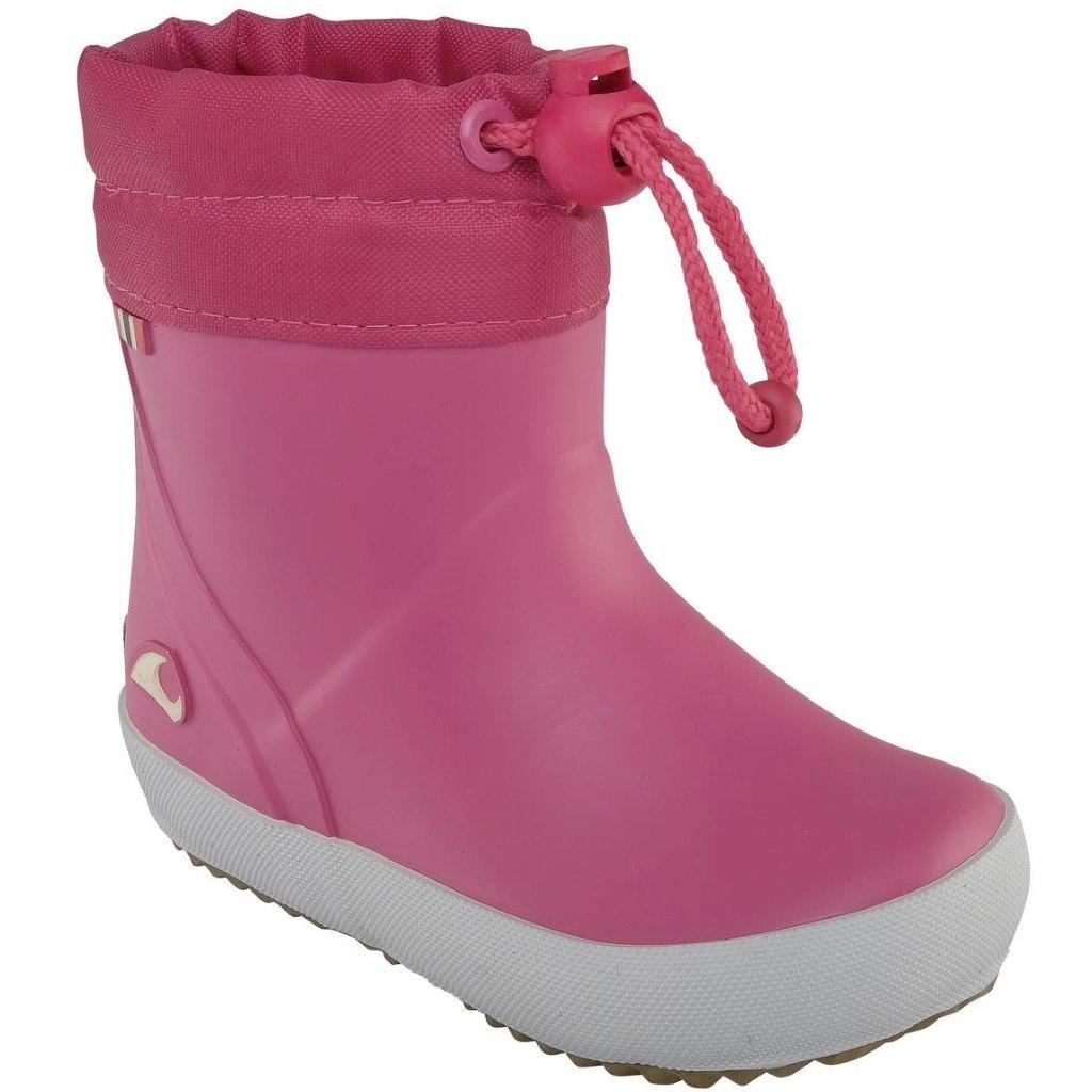 Viking Alv Kids Rubber Boot - fuchsia