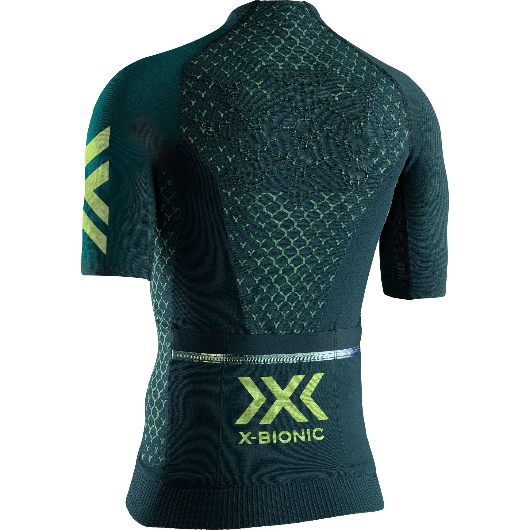 Bild von X-Bionic TWYCE 4.0 Bike Full Zip Kurzarmtrikot für Damen - pine green/amazonas green