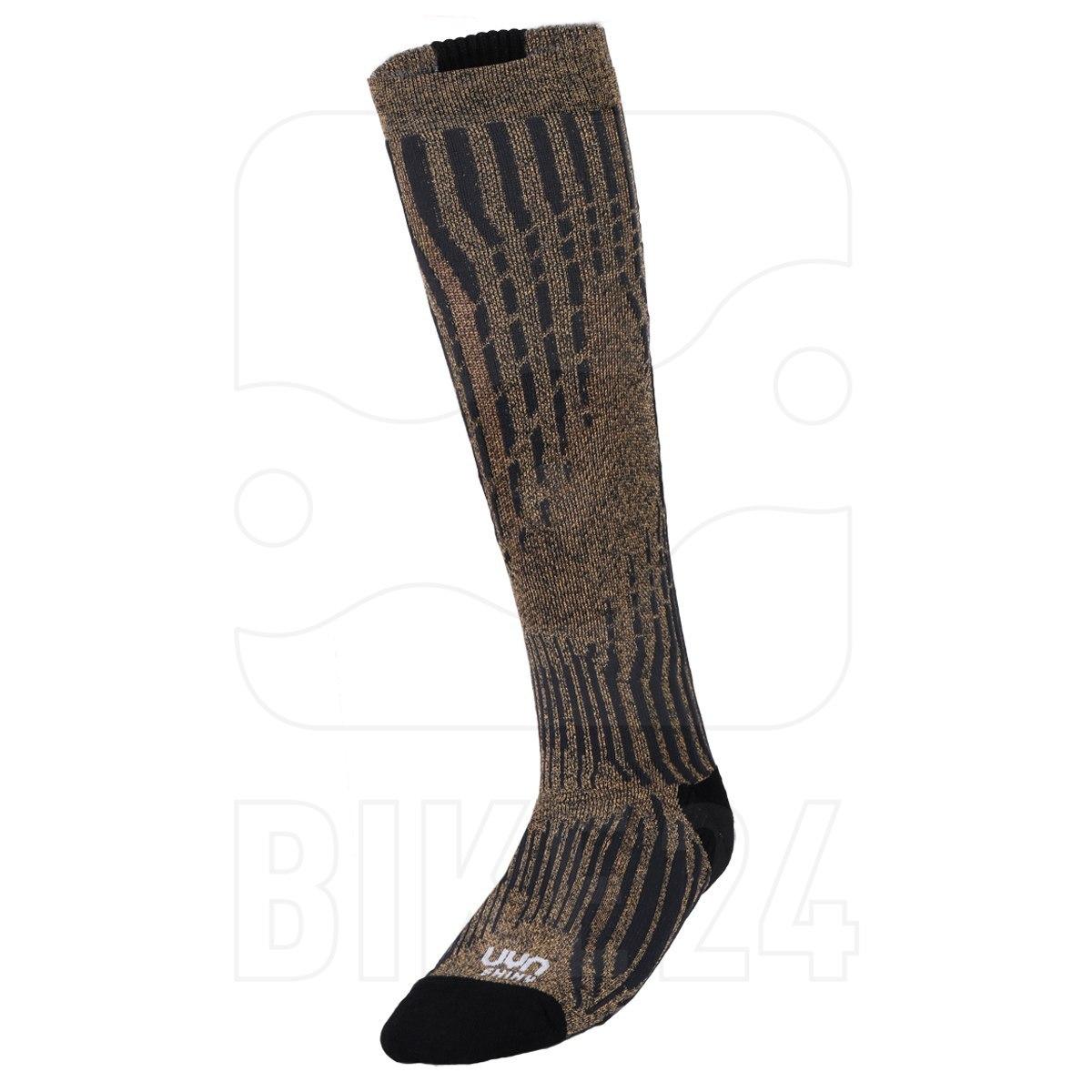 UYN Ski Cashmere Shiny Socks Damen - celebrity gold