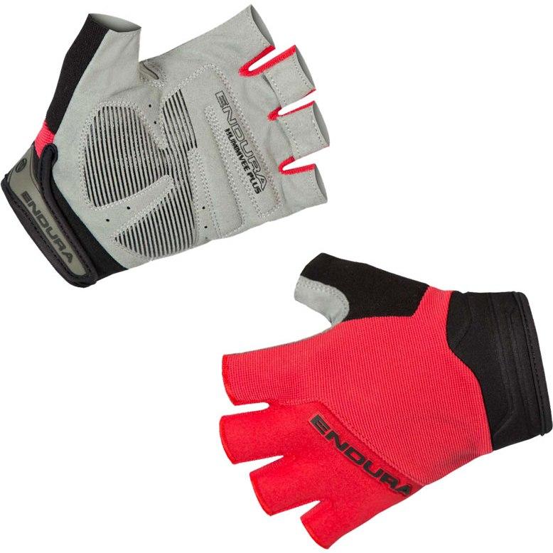 Endura Kids Hummvee Plus Mitt Glove - red