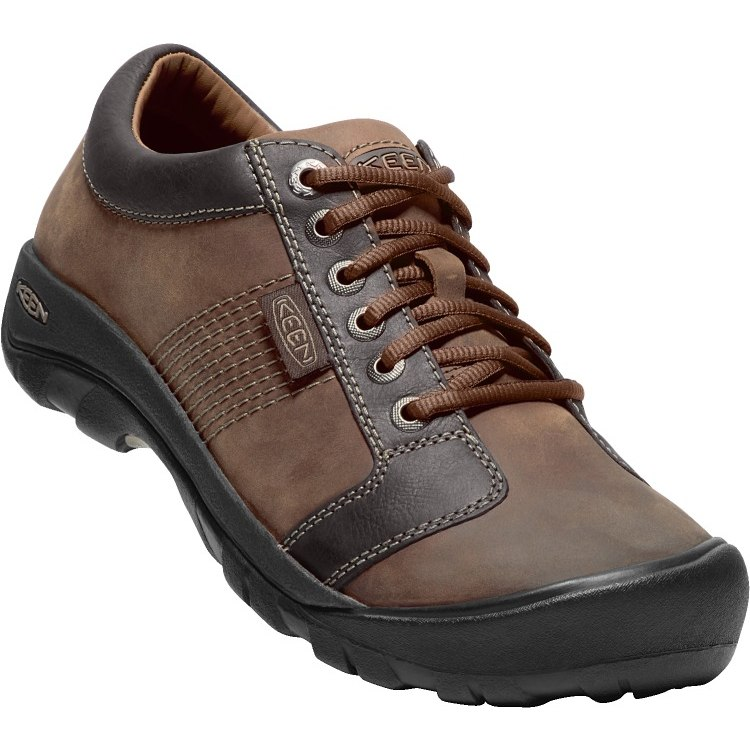KEEN Austin Casual Shoe - Chocolate Brown