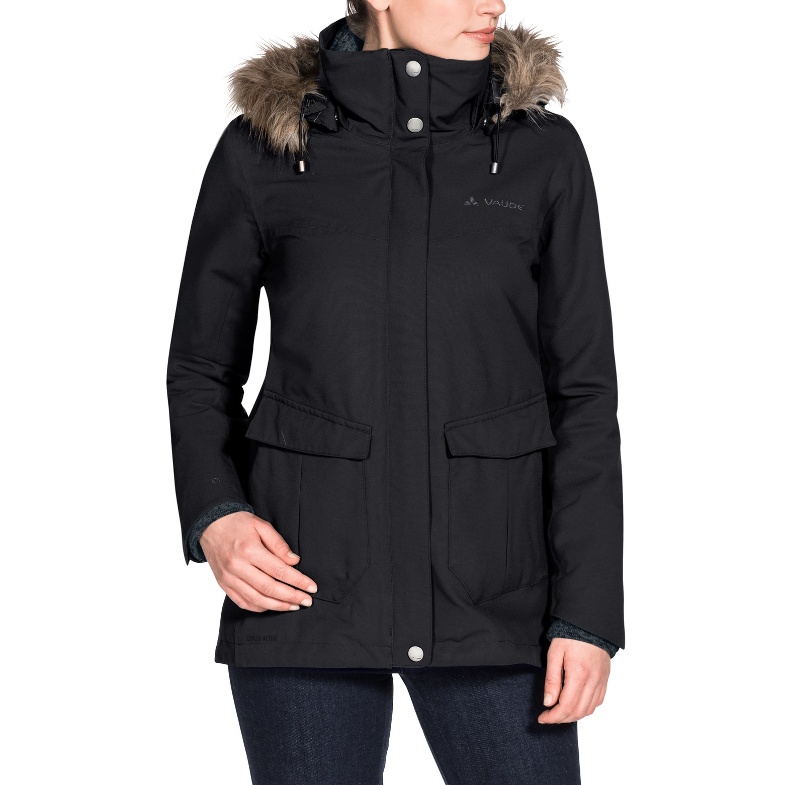 Bild von Vaude Women's Kilia 3in1 Jacket Damenjacke - black
