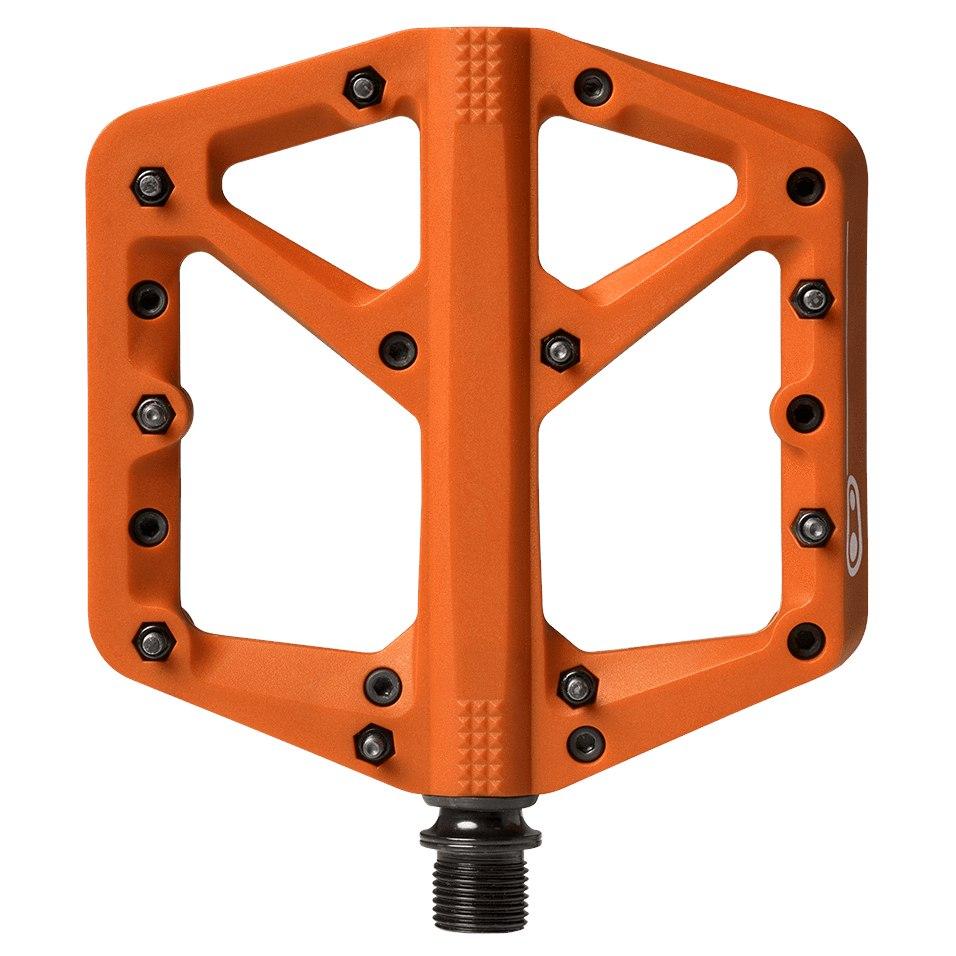 Crankbrothers Stamp 1 Large Flat Pedal - Splash Edition - orange