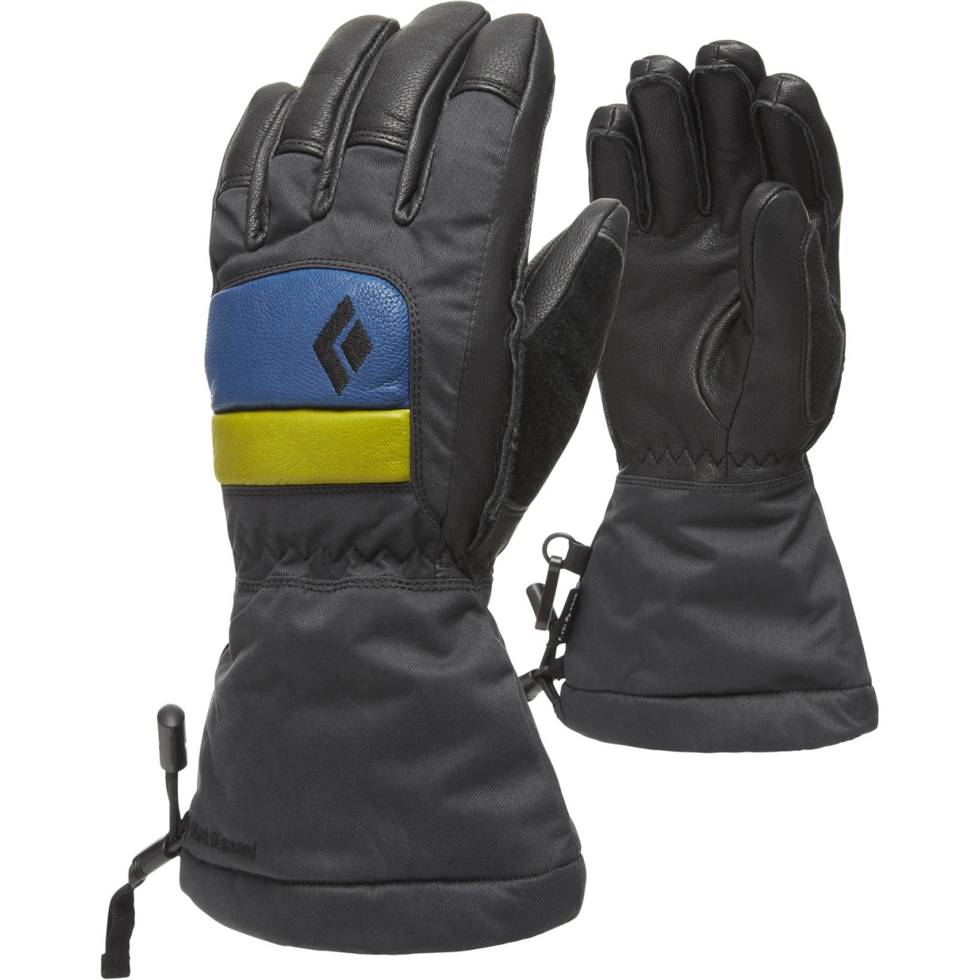 Image of Black Diamond Kid's Spark Gloves - Denim-Aloe
