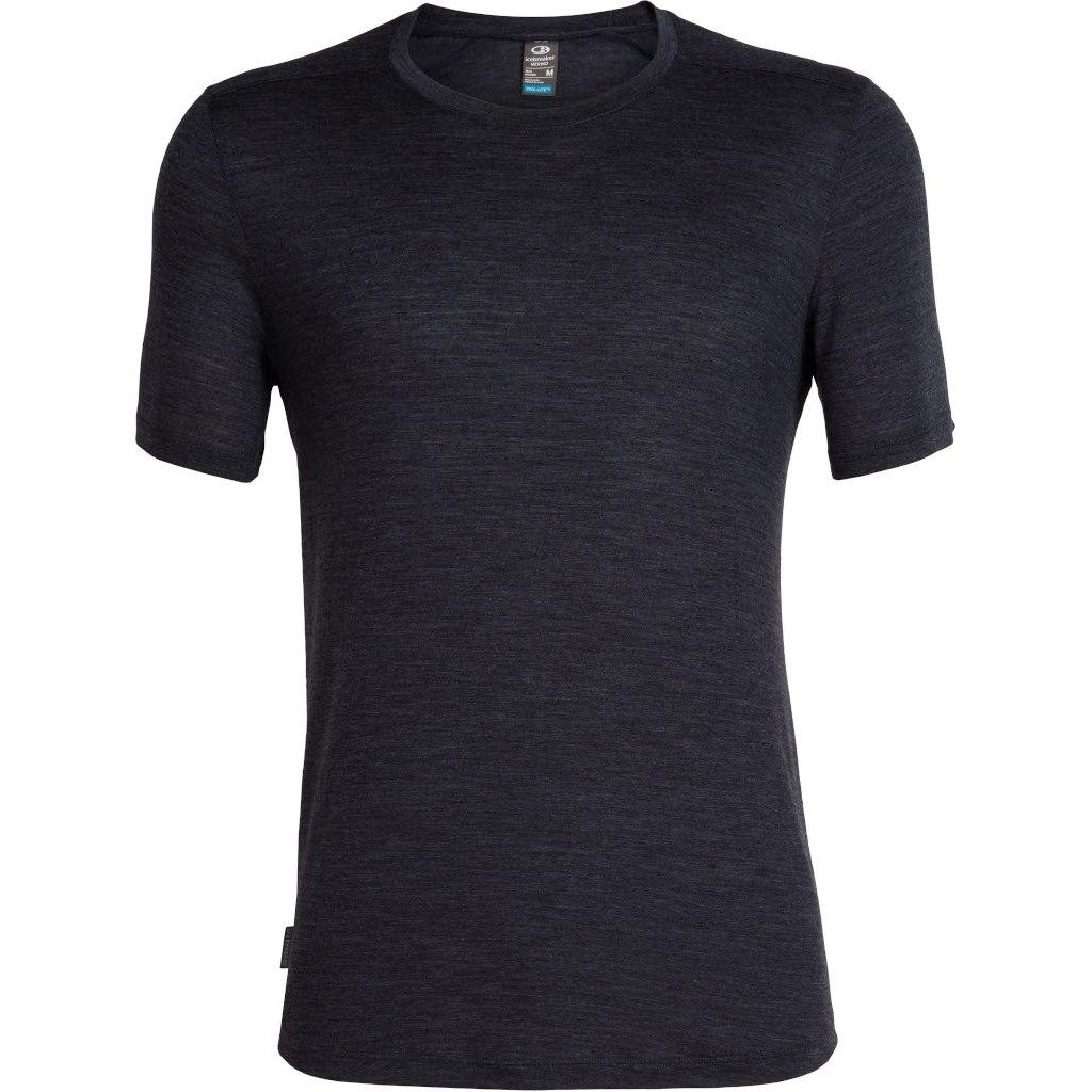 Produktbild von Icebreaker Sphere Crewe Herren T-Shirt - Black HTHR