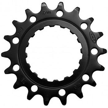 "KMC Sprocket for Bosch E-Bike Drive Units - 1/2"" X 1/8"""" - black"
