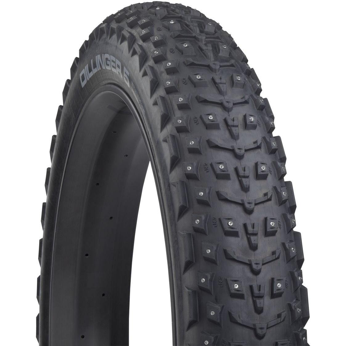 Imagen de 45NRTH Dillinger 5 Fatbike Folding Tire - 252 Studs - Tubeless Ready - 27.5x4.5 Inch - 120TPI