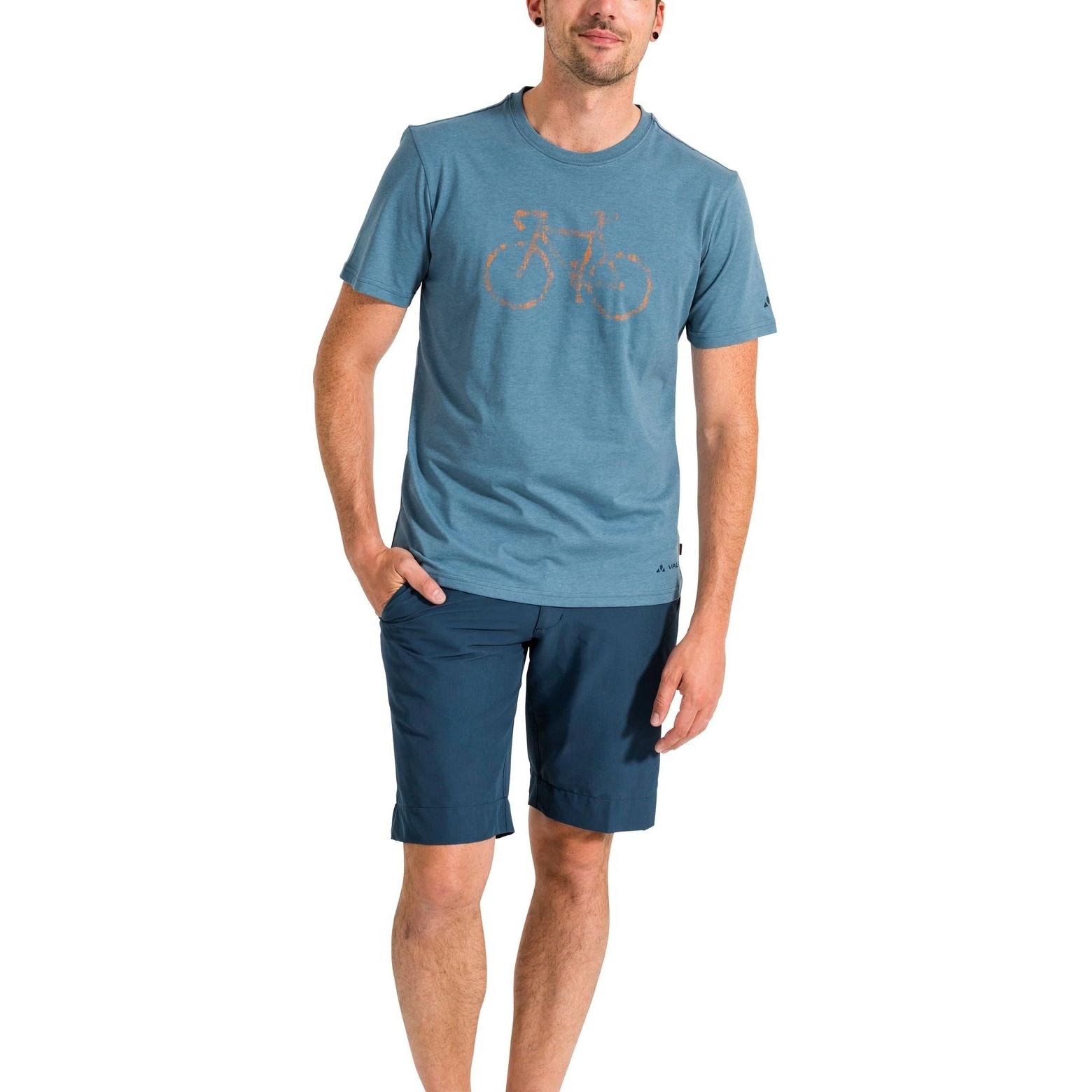 Bild von Vaude Cyclist T-Shirt V - bluegrey