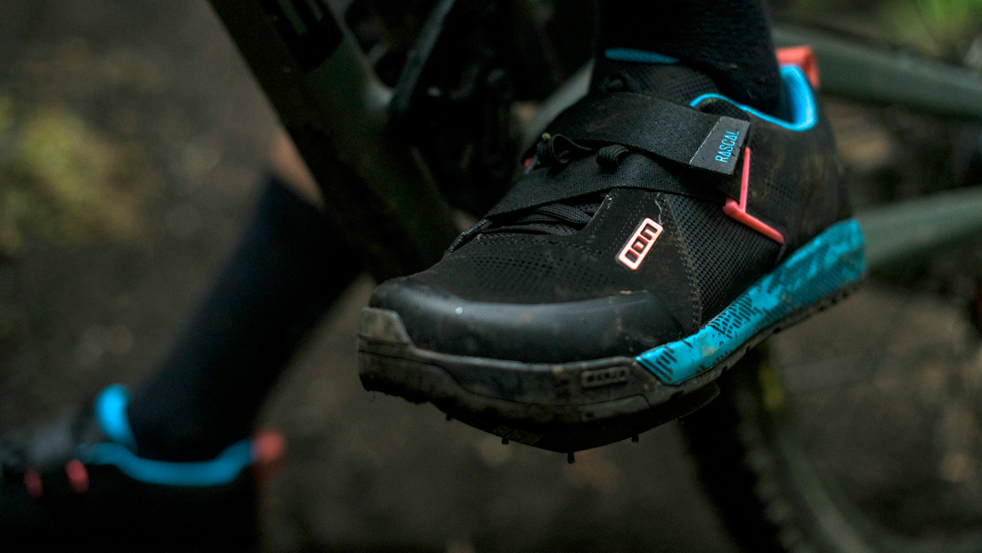 ION Rascal MTB Klick-Schuhe erlauben eine optimale Kraftübertragung und bieten Schutz.