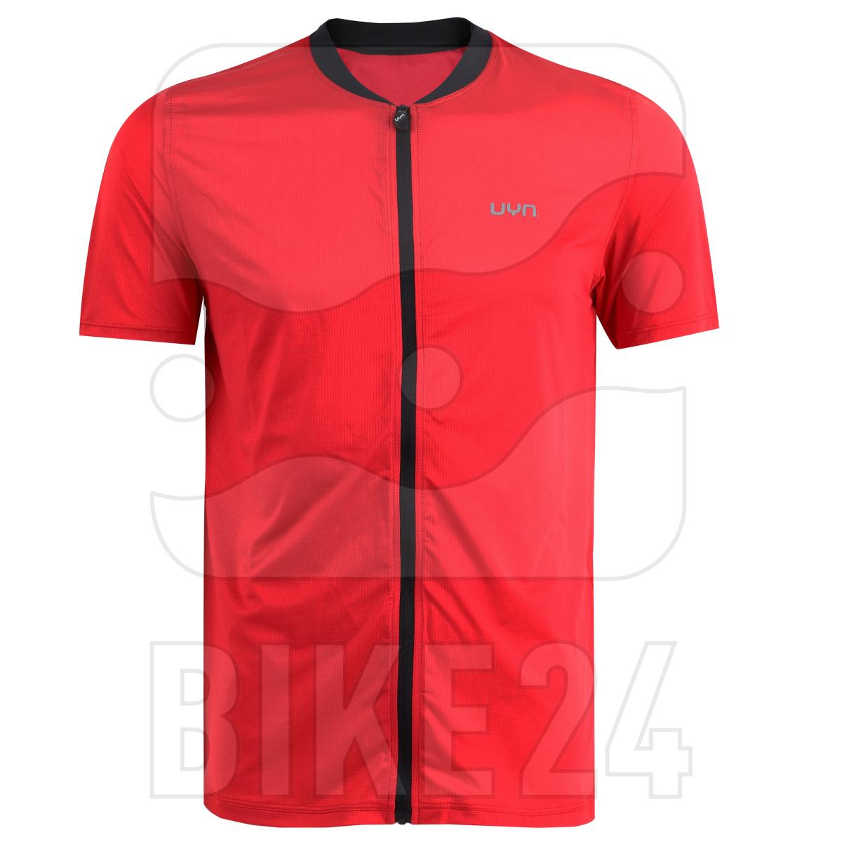 UYN Activyon MTB Full Zip T-Shirt - Rot