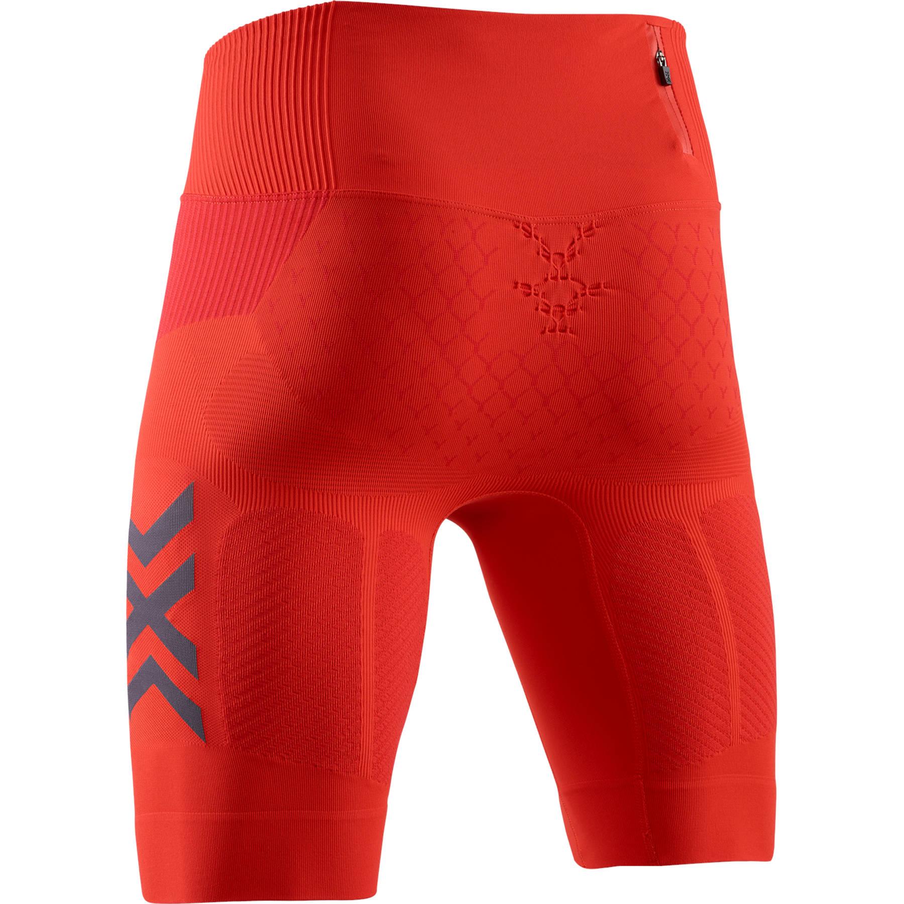 Bild von X-Bionic TWYCE 4.0 Run Shorts Laufhose für Herren - sunset orange/teal blue