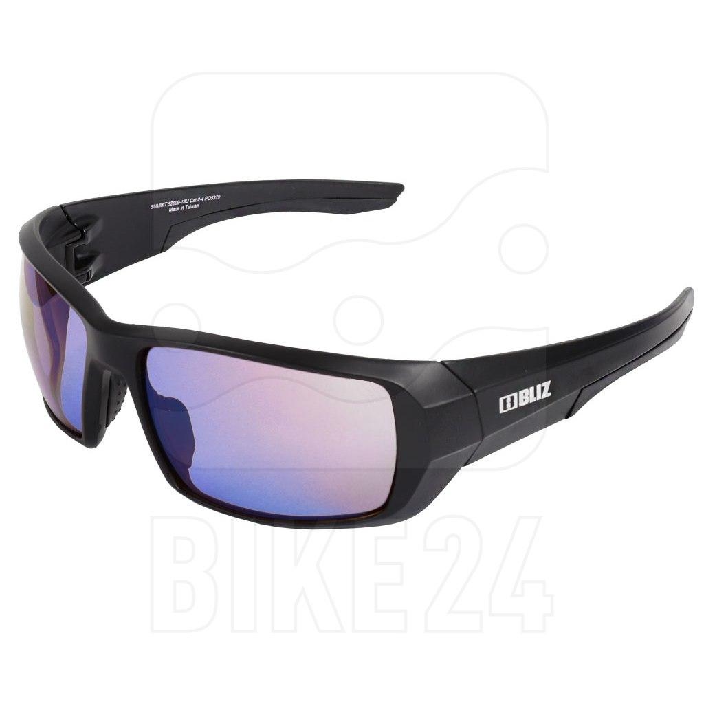 Image of Bliz Summit Matt Black / ULS Brown with Blue Multi Glasses