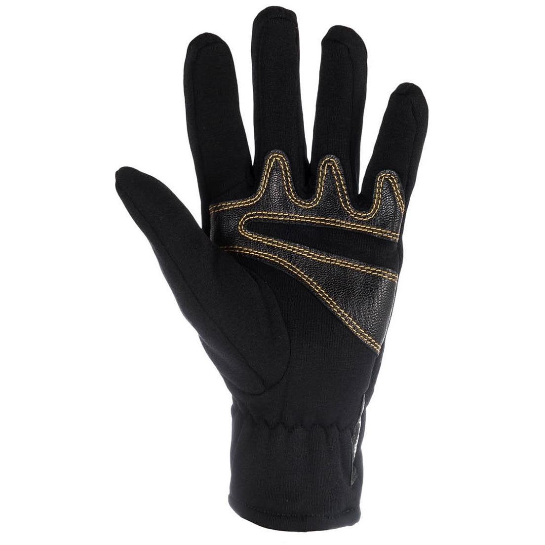 Image of La Sportiva Stretch Gloves - Black/Yellow