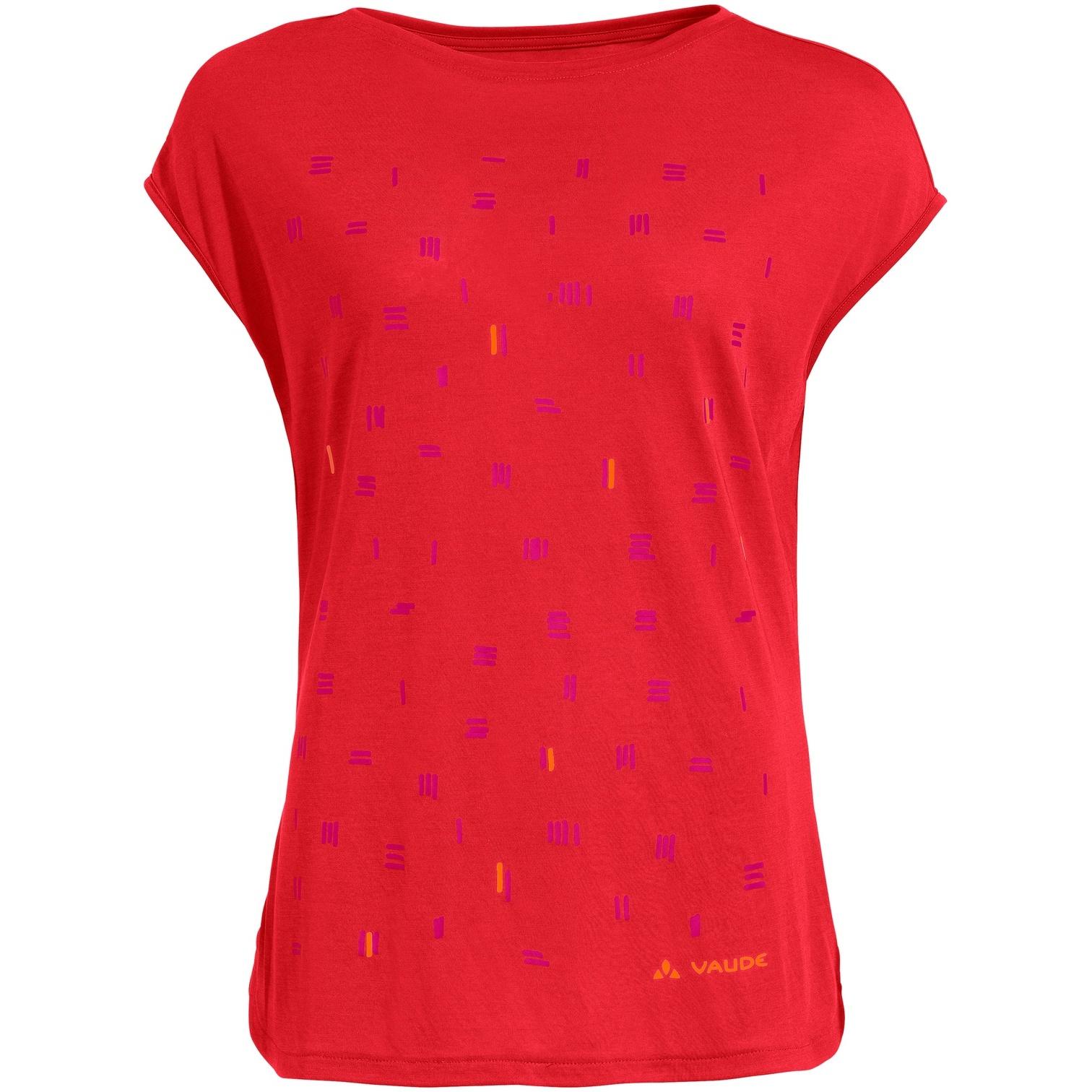 Vaude Women's Tekoa Shirt - mars red