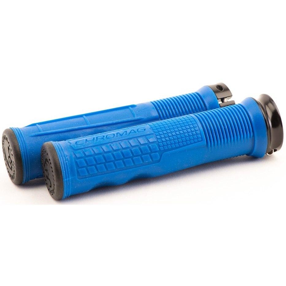 CHROMAG Format Grip Handlebar Grips - blue