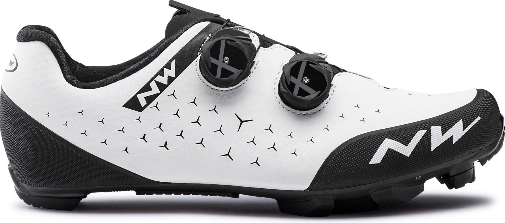 Northwave Rebel 2 MTB Schuhe - white/black 51