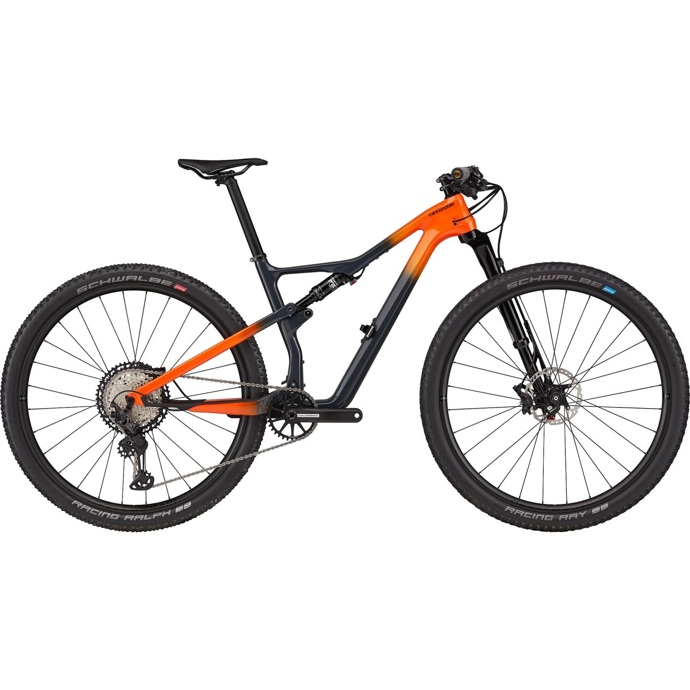 Cannondale SCALPEL CARBON 2 - 29 Zoll Mountainbike - 2021 - Slate Gray