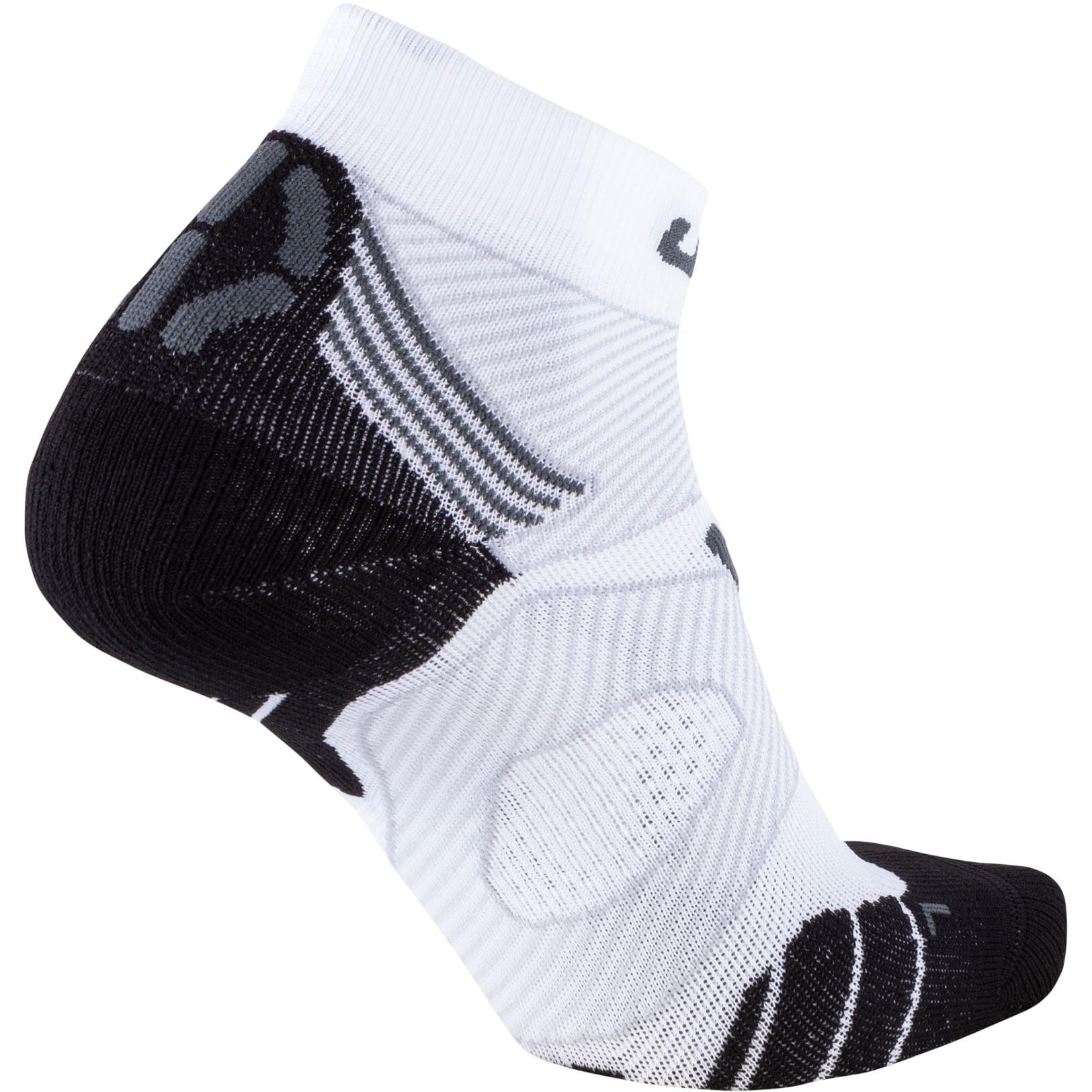 Image of UYN Marathon Zero Men's Running Socks - White/Grey