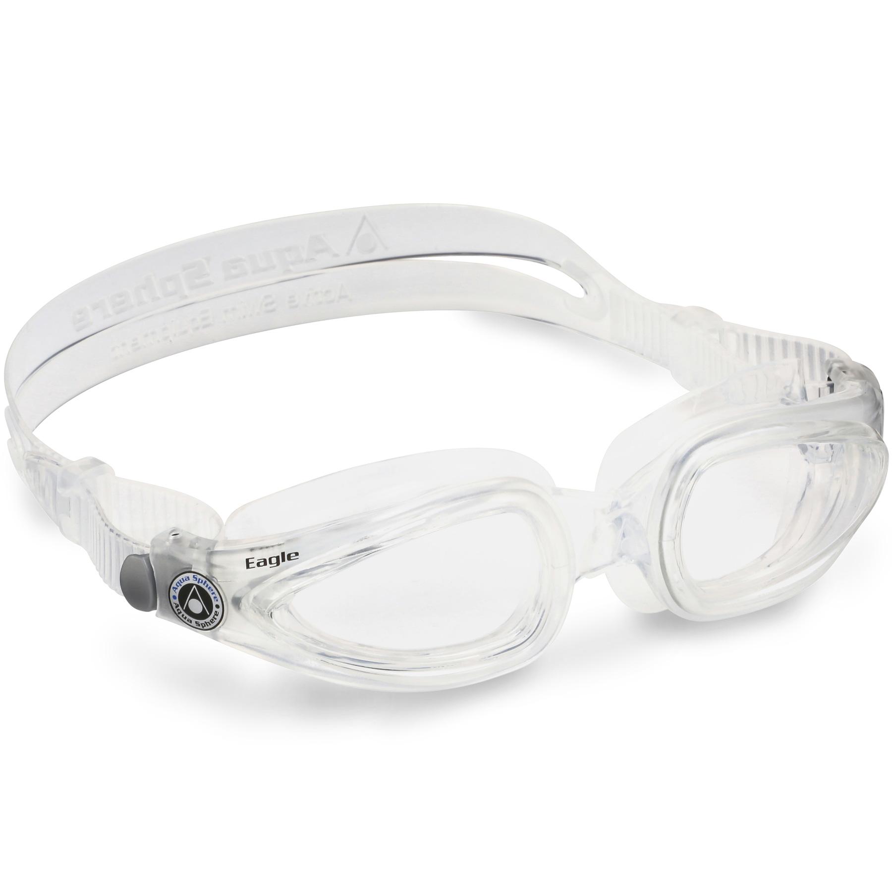 Produktbild von AQUASPHERE EAGLE Schwimmbrille - Clear - L - Clear/Clear