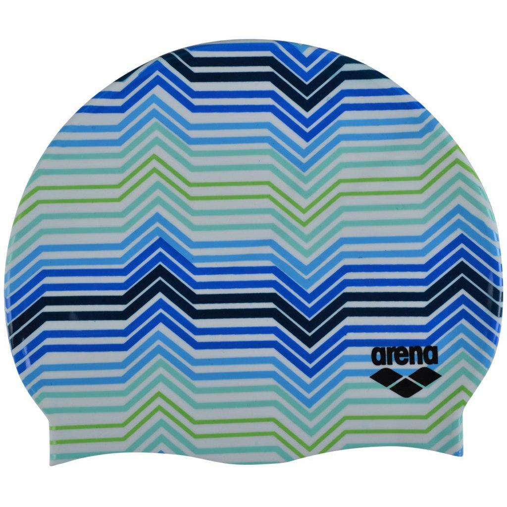 arena Print 2 Swim Cap - stripes