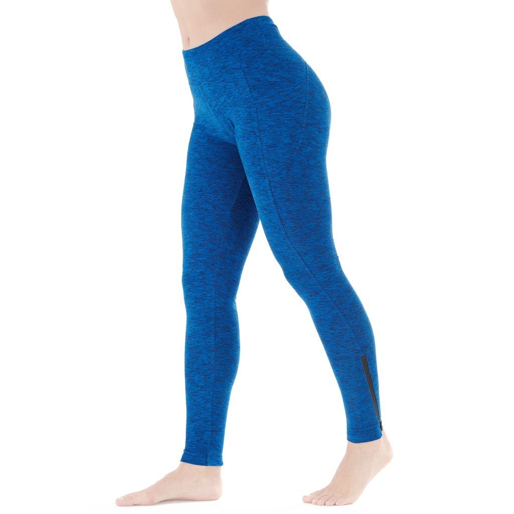 Marika Jordan Solar Legging Women - lapis blue/black speckled space dye