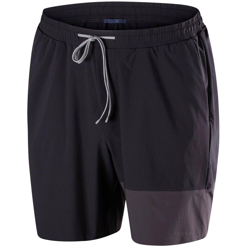 Falke Challenger Shorts for Men - black 3000