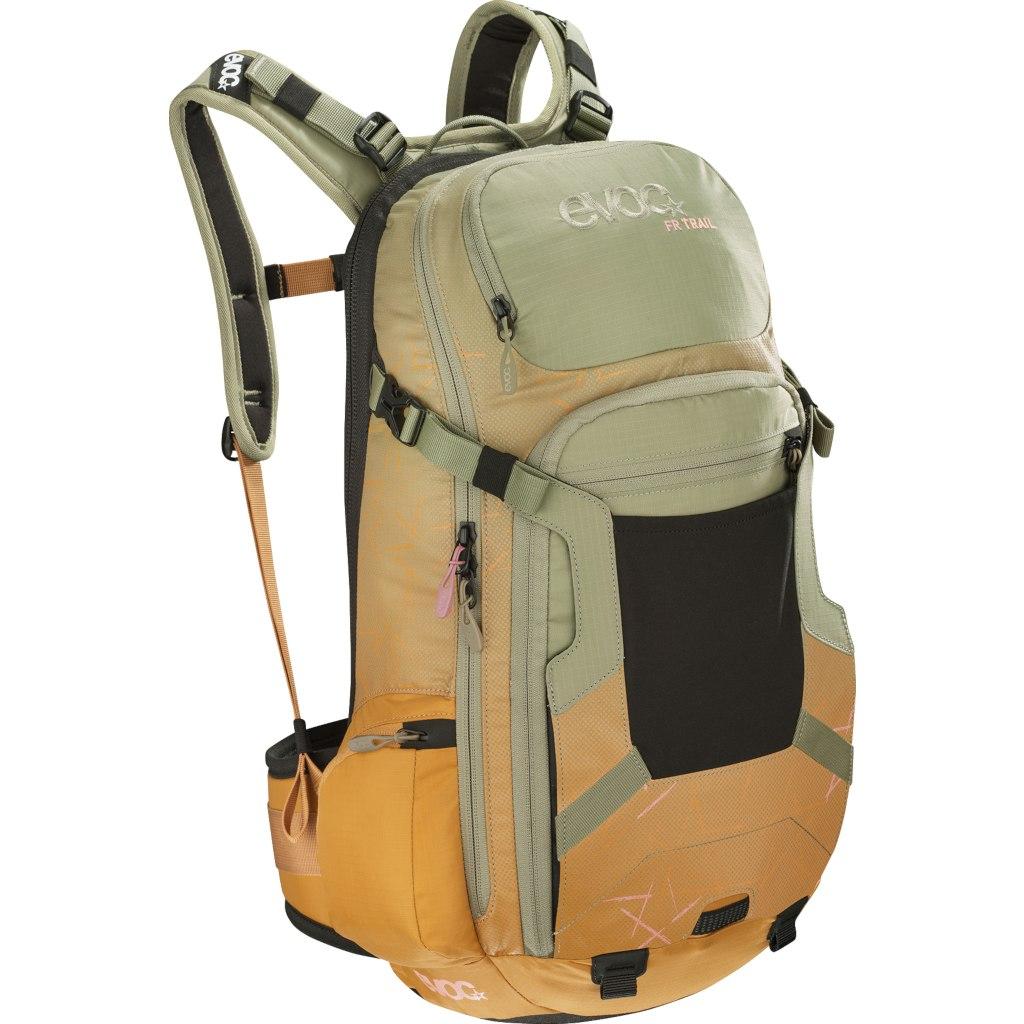 Foto de Evoc FR TRAIL WOMEN - 20L Protector Backpack - Light Olive/Loam