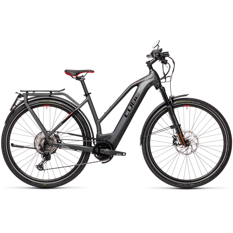 CUBE KATHMANDU HYBRID 45 625 - 45 km/h Women E-Bike - 2022 - grey/red