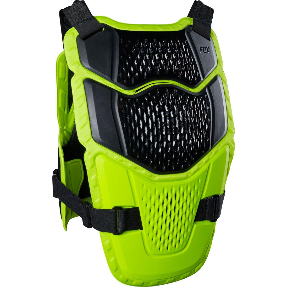 Image of FOX Raceframe Impact CE Protector - flo yellow