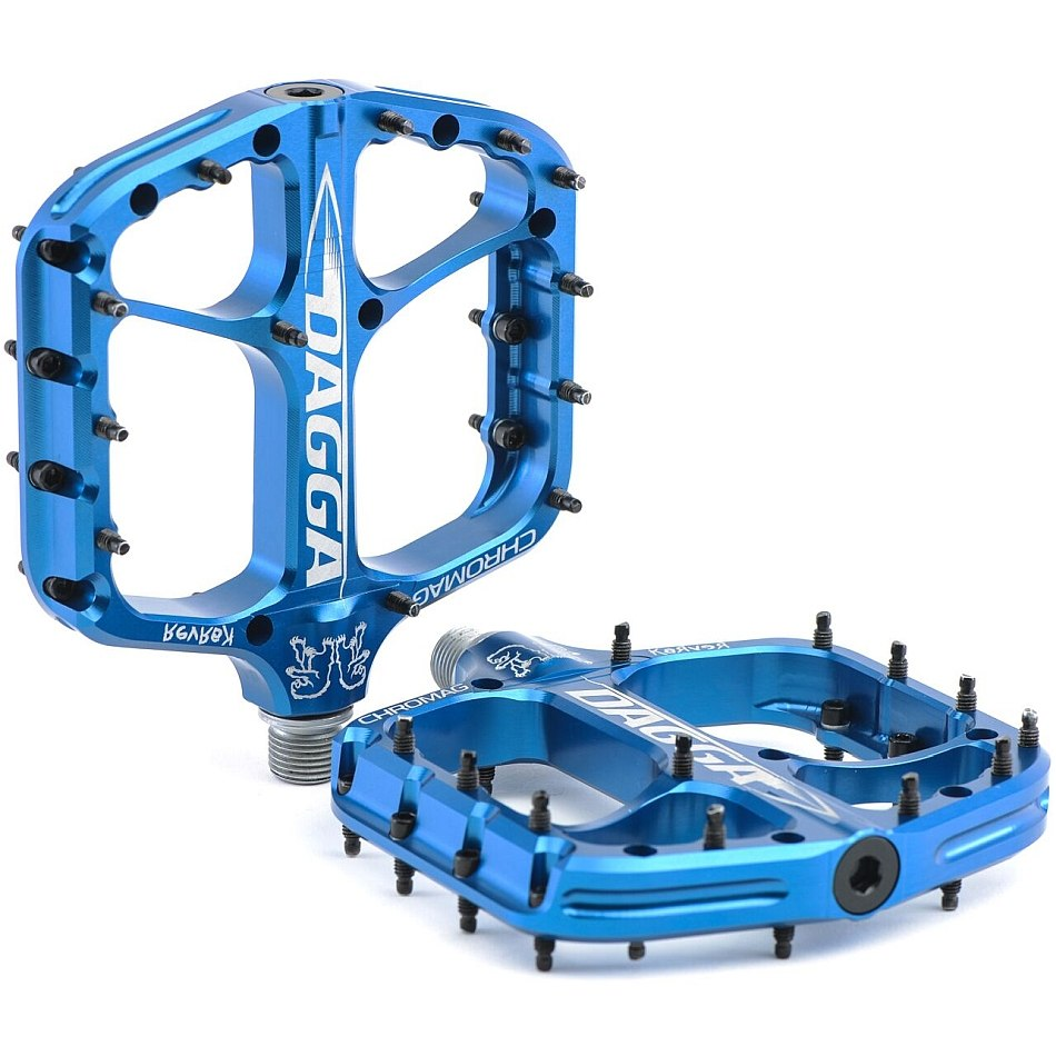 CHROMAG Dagga Pedal - blue