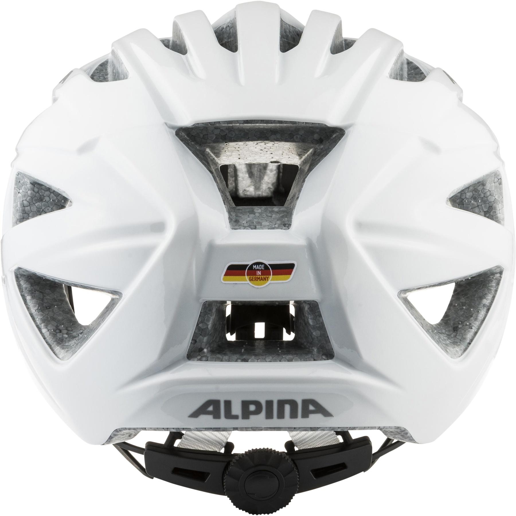 Image of Alpina Parana Helmet - white gloss