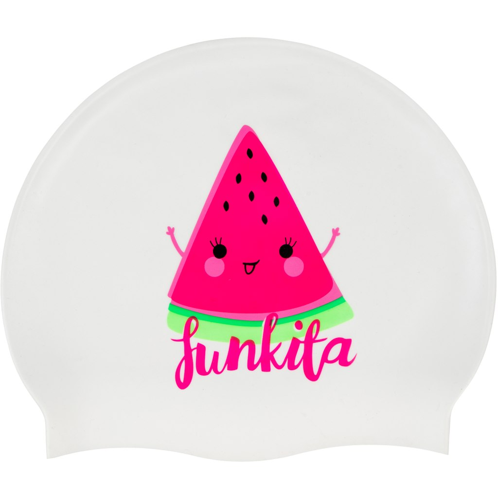 Funkita Silicone Swimming Cap - Melon Crush