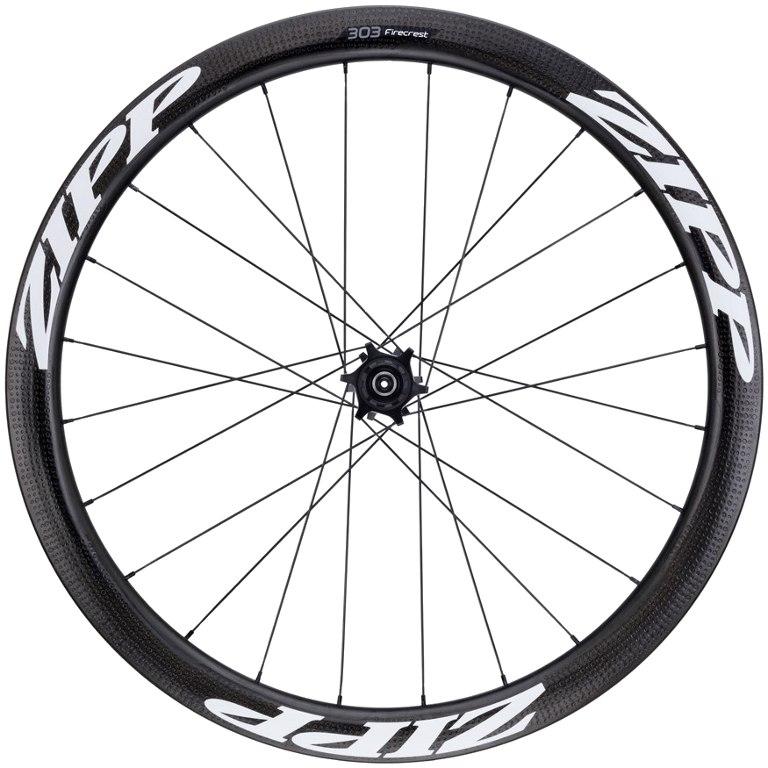 ZIPP 303 Firecrest Disc Carbon Hinterrad - Schlauchreifen - 6-Loch - QR/12x142mm - weiß