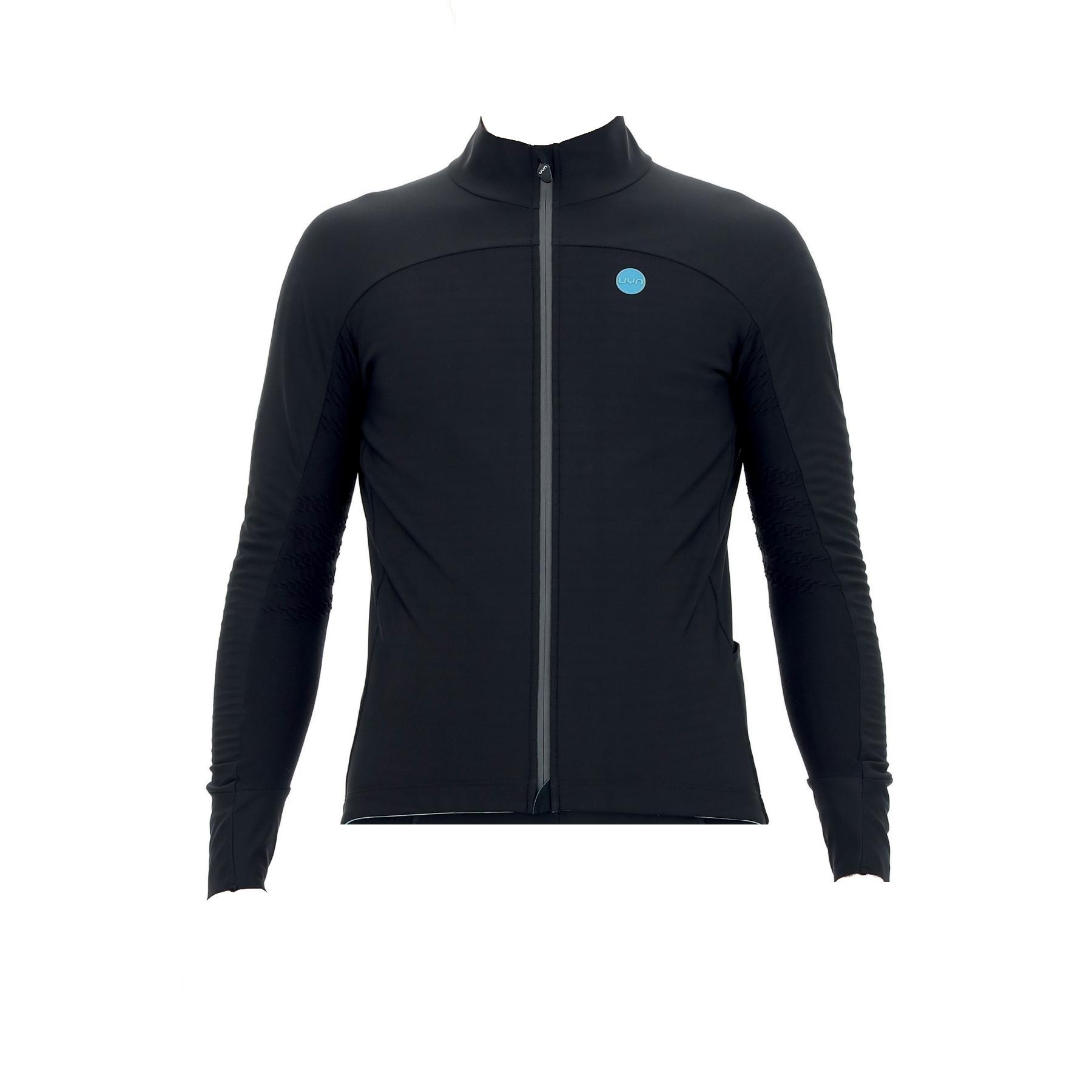 UYN Biking Coreshell Aerofit Jacket - Black/Black/Turquoise