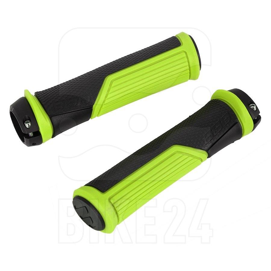 Image of BBB Cycling Cobra BHG-96 Bar Grips - black/neon yellow