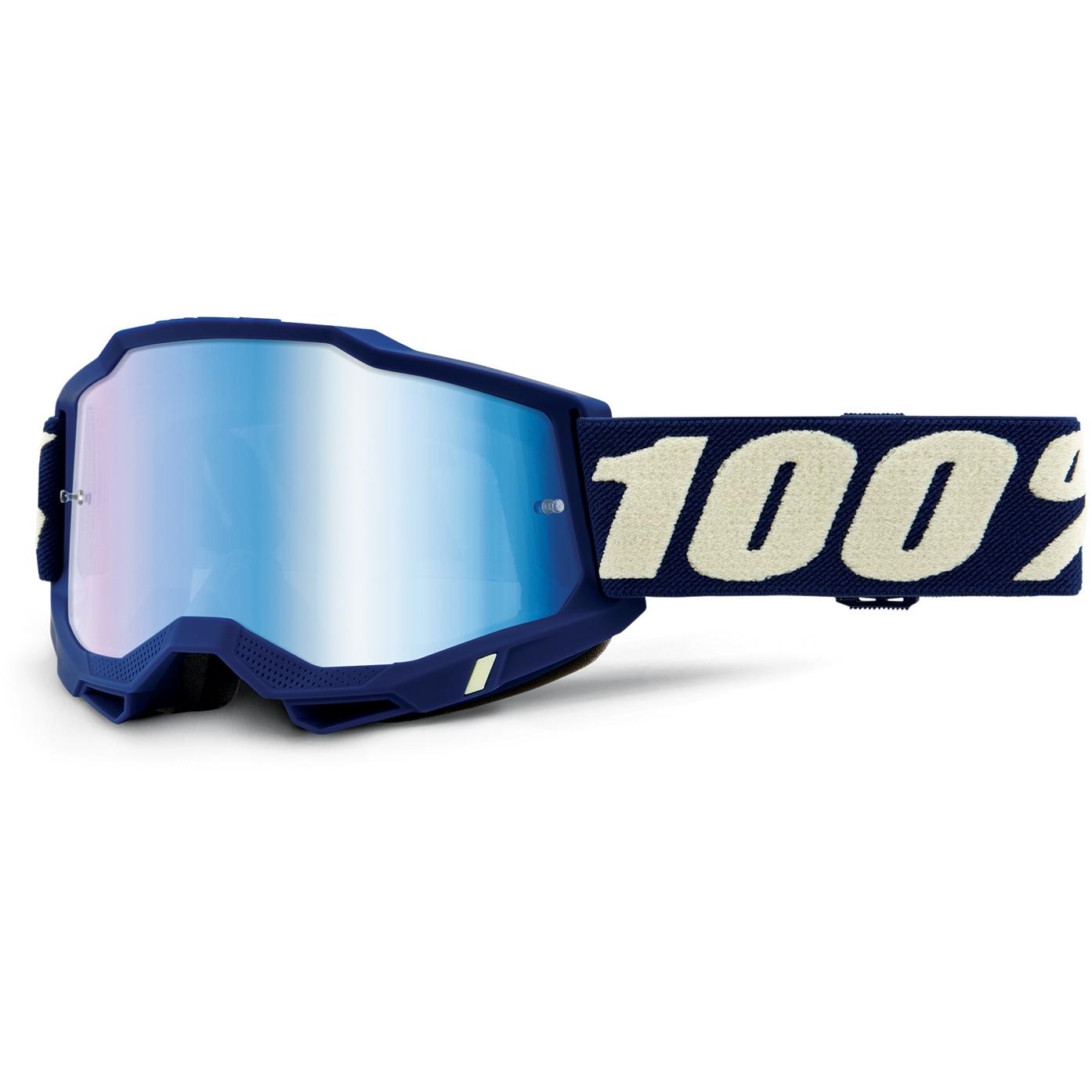 100% Accuri 2 Goggle Mirror Lens Gafas - Deepmarine