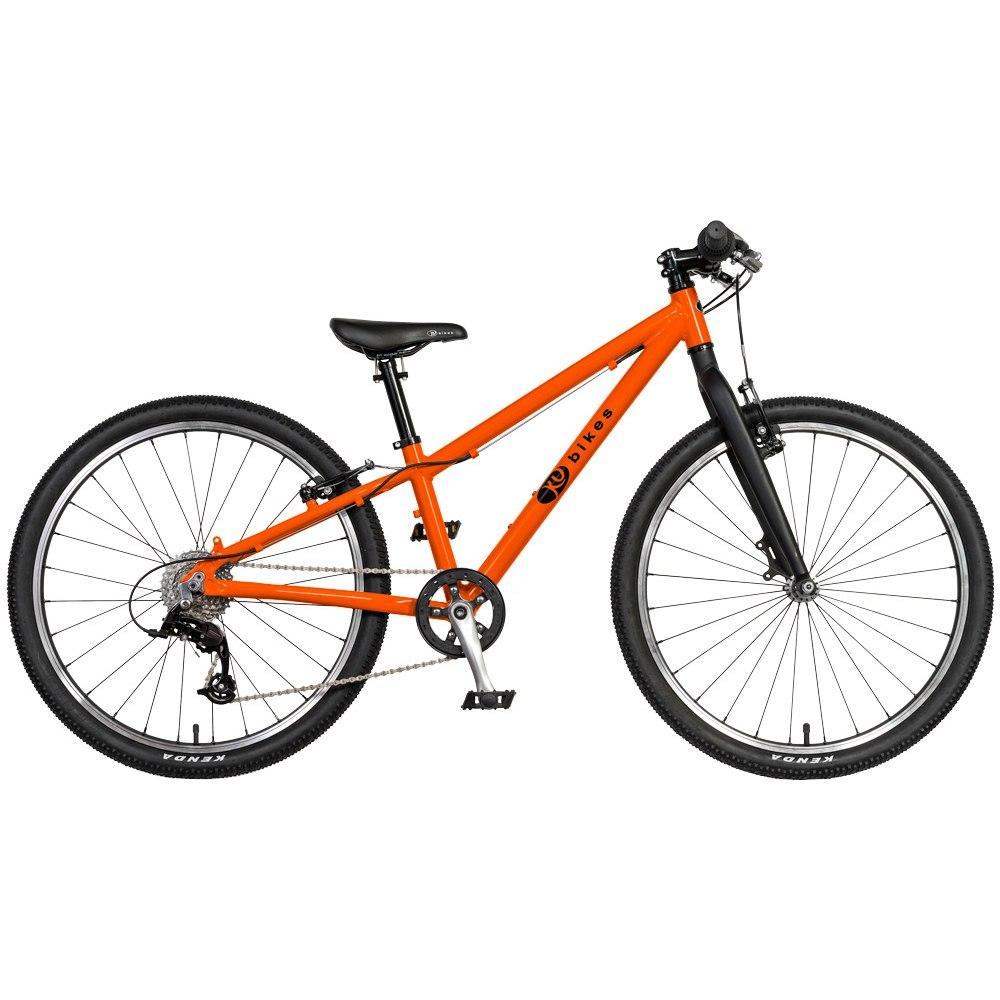 KUbikes 24S MTB 8-Gang Kinderfahrrad - orange